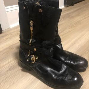 Worn condition Marc Fisher Moto boots 7.5